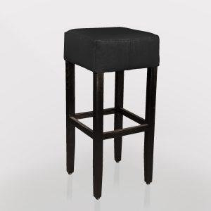 Horeca barkruk zwart met modern design