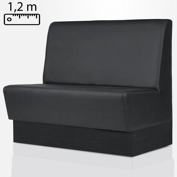 Horeca wandbank standaard 120cm
