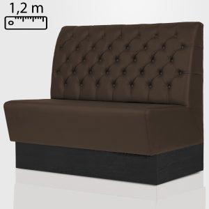 Horeca wandbank 120cm standaard